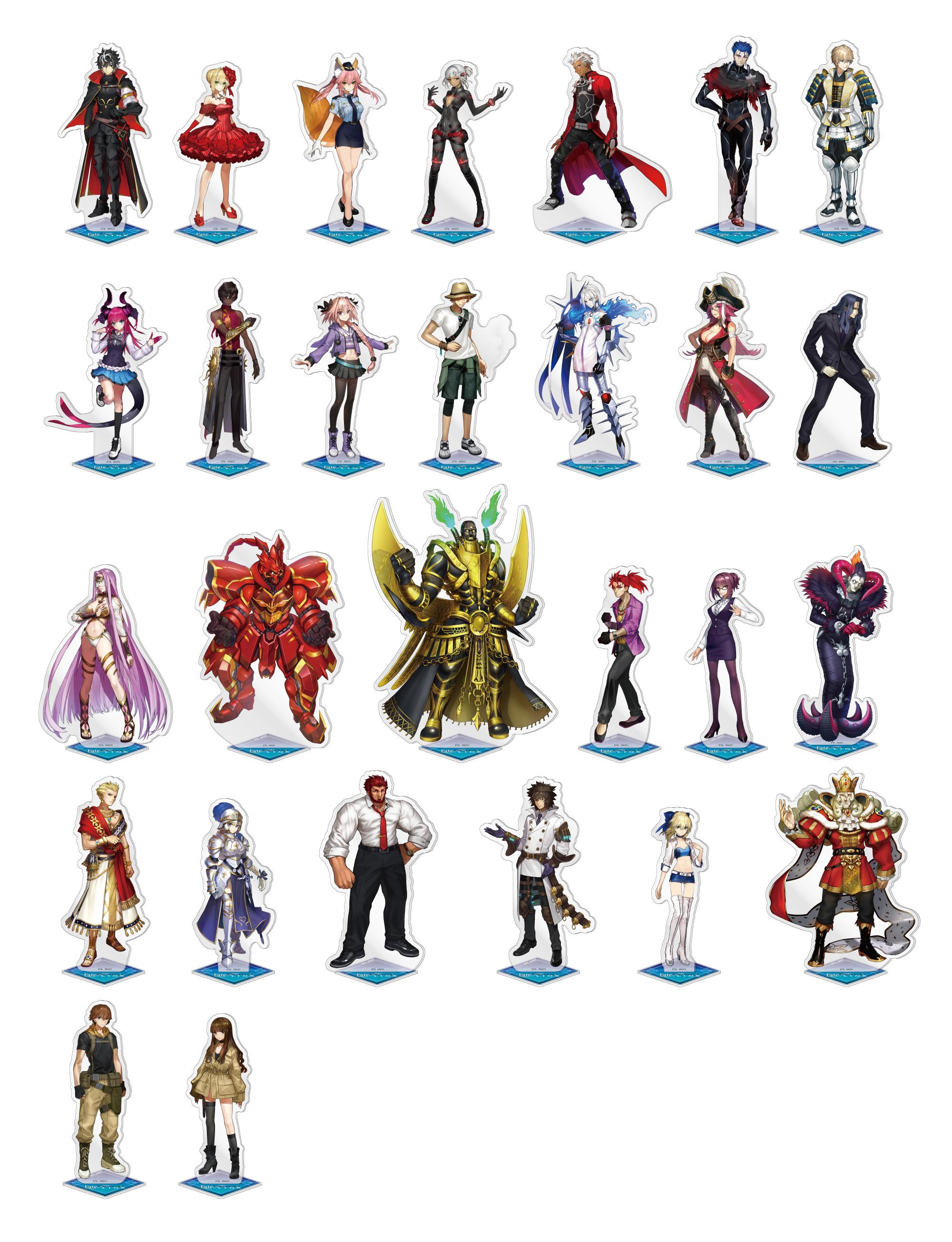 Fate/EXTELLA LINK アクリルフィギュア / Fate/EXTELLA LINK ジャケット画像