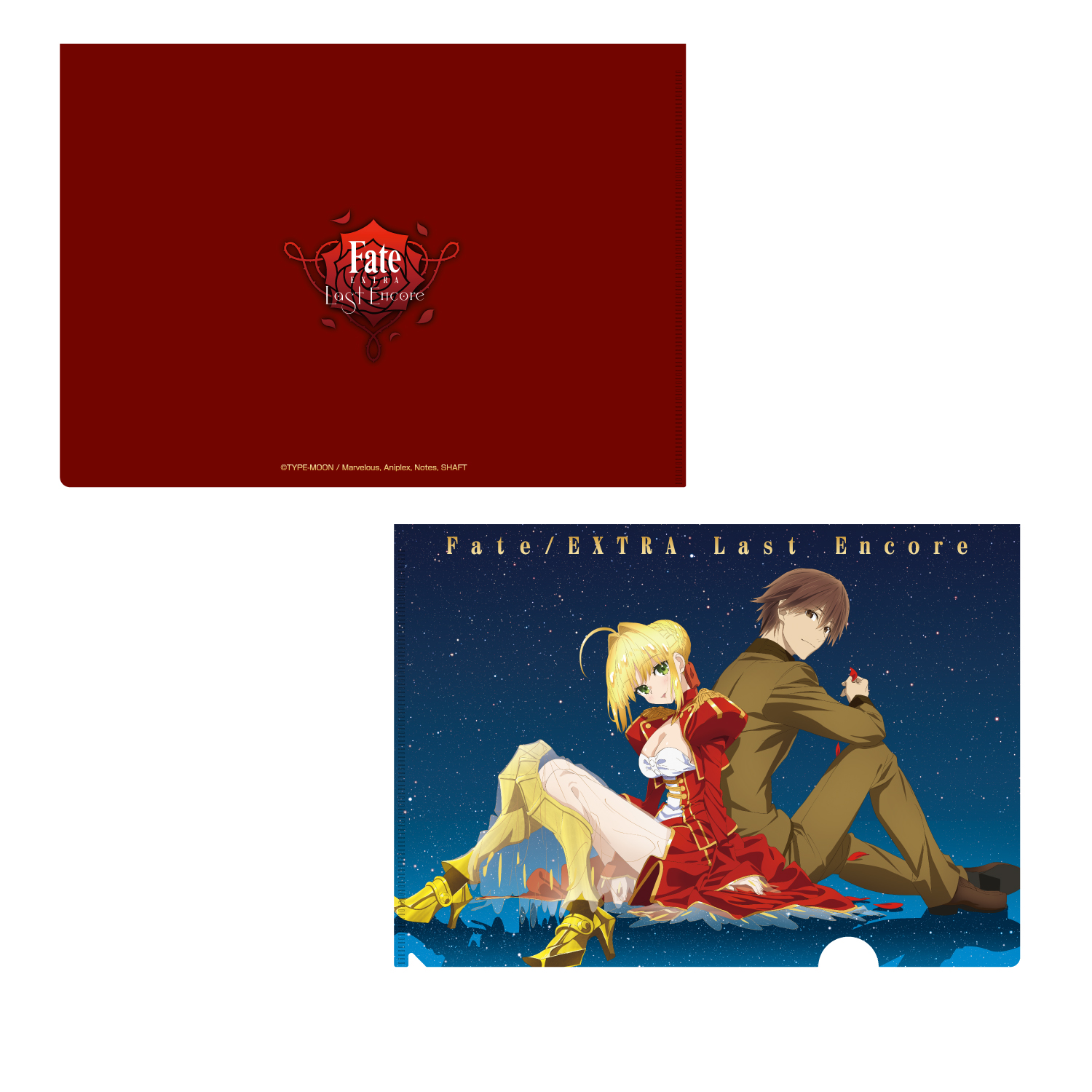 Fate/EXTRA Last Encore ツリービレッジオリジナル A4クリアファイル